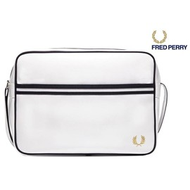 Sac � Bandouli�re Fred Perry Couleur Blanc Ref L5251 Collection Rentr�e 2015