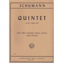 quintett Eb - Dur op. 44 - Quintette en mib majeur pour piano, 2 violons, alto et violoncelle - quintet