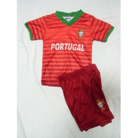 Maillot De Foot Enfant Portugal 2/3/4/6/8/10/12/14 Ans Short Survetement Ronaldo