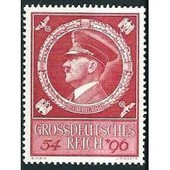 Allemagne, 3�me Reich 1944, 55�me Anniversaire Chancelier Hitler, Yv. 804, Neuf** Luxe