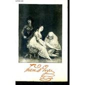 Les Caprices De Goya / Collection Bibliotheque Aldine Des Arts. de ADHEMAR JEAN