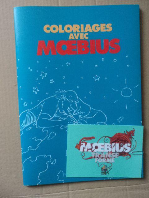 COLORIAGES AVEC MOEBIUS