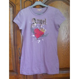 T-Shirt Mauve Best Mountain - Taille M