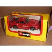 [197] Miniature 1/43�me : Porsche 959 - Couleur Rouge - Marque : Bburago