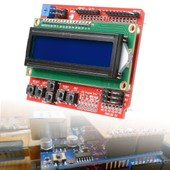 XCSOURCE LCD1602 16x2 Character Expansion Board Keypad Shield F Arduino Duemilanove TE191