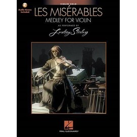 Les Misérables au violon