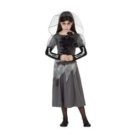D�guisement De Mari�e Fant�me Fille - Enfant - 5-6 Ans