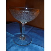 Coupe � Champagne Collection Rohan Cristal Baccarat 1935
