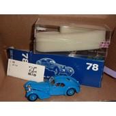 [182] Miniature 1/43�me : Bugatti T57 - Couleur Bleu - Marque : Rio