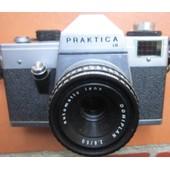 PRAKTICA LB + Objectif Domiplan 50mm