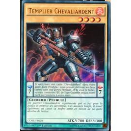 Carte Yu-Gi-Oh Core-Fr028 Templier Chevaliardent Neuf Fr