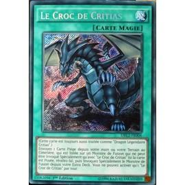 Carte Yu-Gi-Oh Drl2-Fr006 Le Croc De Critias Neuf Fr