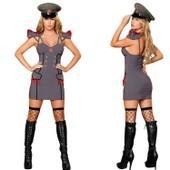 Halloween : Uniforme De Jeu Costume Sexy Polici�re Uniformes De Jeu Maillot - Emilie Mariage