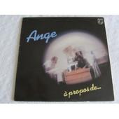 A Propos De... (Reprise De Chansons De Georges Brassens - Michel Polnareff - Claude Nougaro - Jacques Brel - Etc...) - Ange