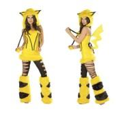 Halloween : Uniforme De Jeu Costume Sexy Uniformes Pikachu Animaux En Peluche - Emilie Mariage