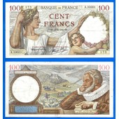 France 100 Francs 1940 Sully Serie F Frcs Frc Europe Paypal Skrill Ok