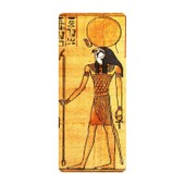 Autocollant Sticker Egypte Antique Ancienne Egyptien Ra Re Dieu Soleil