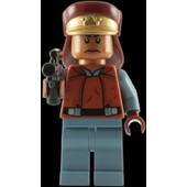 Lego Star Wars: Capitaine Panaka Mini-Figurine Avec Blaster