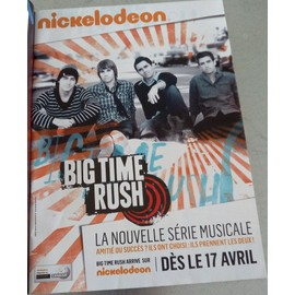 poster a4 big time rush