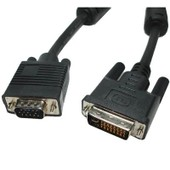 VGA 15Pin Male to DVI 24+5 Pin Male Cable 1.5M