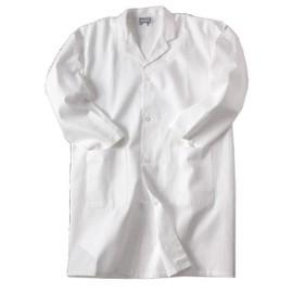 Blouse Blanche De Chimie, Taille 10 � 16 Ans, 100% Coton, Pour Laboratoire Scolaire
