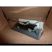 [76] Miniature 1/43�me : Peugeot 403 Cabriolet - Couleur Noir - Marque : Verem