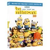 Les Minions - Combo Blu-Ray3d + Blu-Ray+ Dvd + Copie Digitale de Pierre Coffin