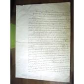 Testament Ancien De V.Lenormandie Sign� Le 10 Ao�t 1876 � Sommeville,11 Octobre 1880 � Sommeville Et Le 16 Mai 1884 � Paris