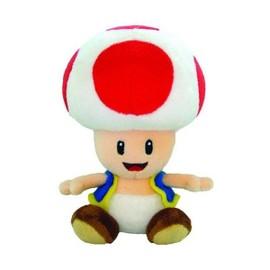 Sanei Super Mario Bros Peluche Toad 16 Cm