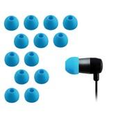 Xcessor Remplacement Embouts Pour La Plupart Des Marques D'�couteurs Intra-Auriculaires 7 Paires (Set De 14 Pi�ces) En Silicone. Taille: Grande (M). Bleu