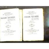 Souvenirs Et Correspondance Tires Des Papiers De Madame Recamier - 2 Tomes - 1 + 2 / Bibliotheque Contemporaine. de COLLECTIF