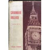 Grammaire Anglaise - Nouvelle Edition de PICHON CLAUDE