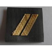 Grade Velcro Neuf De Poitrine Sur Fond Vert Grade Sergent Arm�e De L'air