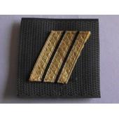 Grade Velcro Neuf De Poitrine Sur Fond Vert Grade Sergent-Chef Arm�e De L'air
