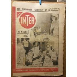 Inter 153 : Shirley Temple, Quadrupl�s, Saint Cloud, Jean Pierre Aumont