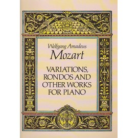 VARIATIONS RONDOS & OTHER WORKS FOR PIANO - partition