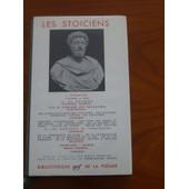 Les Sto�ciens de Cl�anthe - Diog�ne La�rce