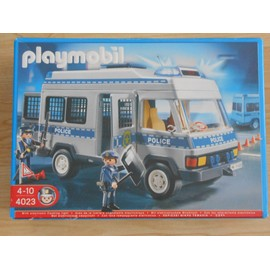 Playmobil 4023 d 39 occasion 108 vendre pas cher - Playmobil camion police ...