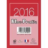 Exacompta Bloc Pratic �ph�m�ride Civil 2016 Date � Droite 120x82 Mm