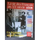 La Vie Des Francais Au Xx� Siecle ...1950....1959..Un Frigidaire...Un Joli Scooter