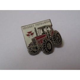 Pin's Tracteur / Massey Ferguson (signé série 3000)