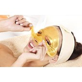 Masques Collag�ne Cristal 24k Gold Premium Bio Anti Vieillissement Soins De La Peau Or Blanc . Masque Au Collag�ne. Collagen Crystal Face Masks Anti Ageing Skin Care Gold White