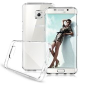 Galaxy S6 Edge Plus Coque Etui Housse Silicone Gel + Transparent