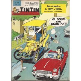 Journal Tintin N� 859 : Cross Tintin