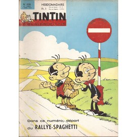 Journal Tintin N� 858 : Rallye Spaghetti