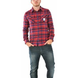 Chemise Superdry Milled Flannel Fs