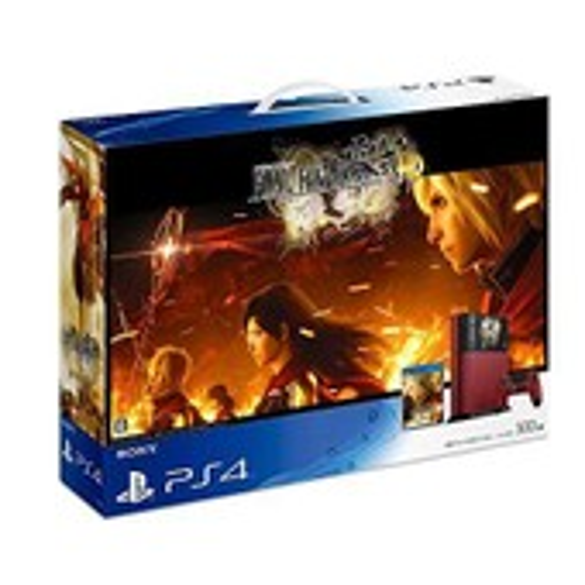 Playstation 4 - Final Fantasy Type 0 Hd Suzaku Edition Limit�e - Import Japon