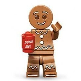 Lego Figurines � Collectionner: Gingerbread Man Mini-Figurine (S�rie 11)