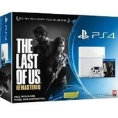 Pack Console Playstation 4 500go Blanche Et The Last Of Us Remastered