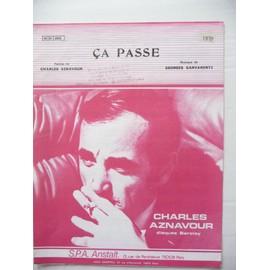 ça passe Charles Aznavour